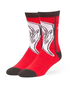 Tampa Bay Buccaneers Hot Box Sport Socks Red 47 Brand