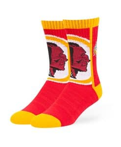 Washington Redskins Hot Box Sport Socks Red 47 Brand