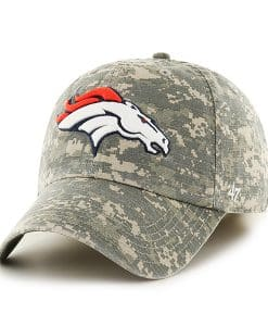 Denver Broncos Officer Digital Camo 47 Brand Hat