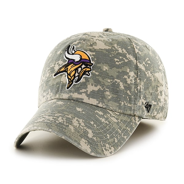 a12b86ceaf7527 Minnesota Vikings Officer Digital Camo 47 Brand Fitted Hat - Detroit ...