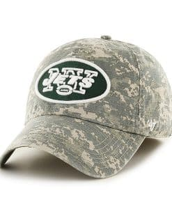 New York Jets Officer Digital Camo 47 Brand Fitted Hat