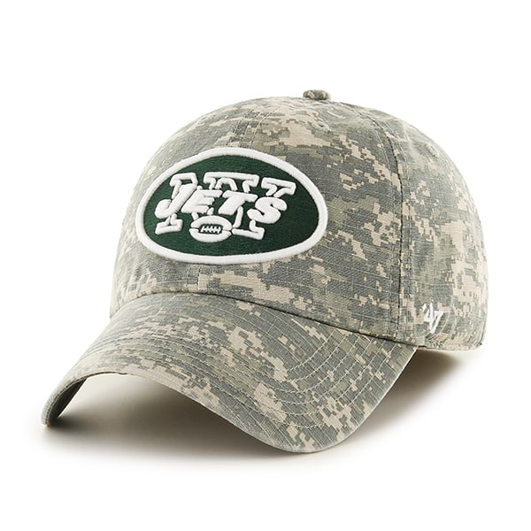 1b02941c050802 New York Jets Officer Digital Camo 47 Brand Fitted Hat - Detroit Game ...