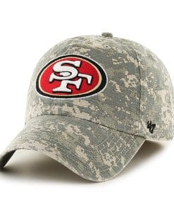 San Francisco 49Ers Officer Digital Camo 47 Brand Hat