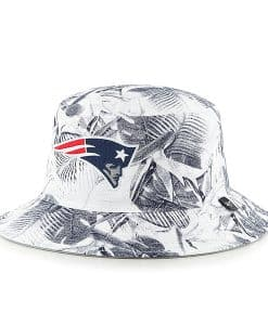 New England Patriots Ohana Bucket Hat White 47 Brand