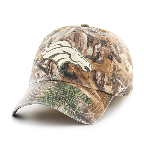 Denver Broncos Realtree Franchise 47 Brand Fitted Hat