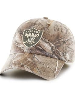 Oakland Raiders 47 Brand Realtree Franchise Fitted Hat