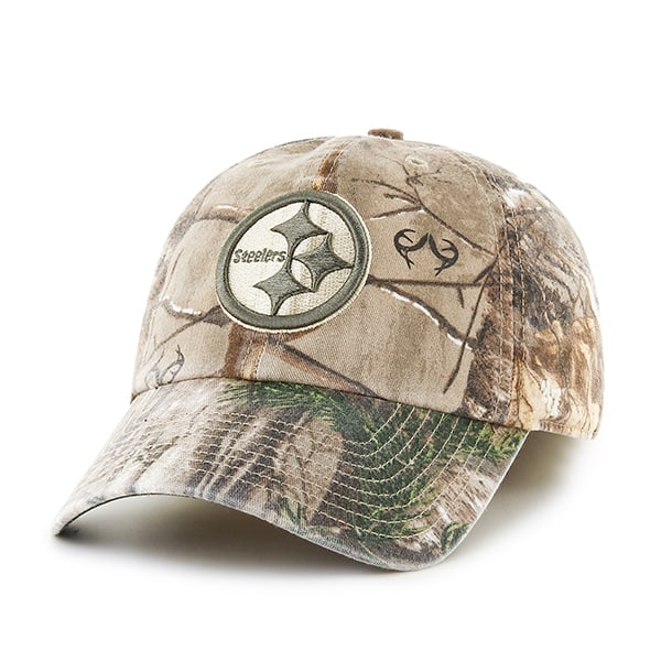 Pittsburgh Steelers 47 Brand Realtree Franchise Fitted Hat