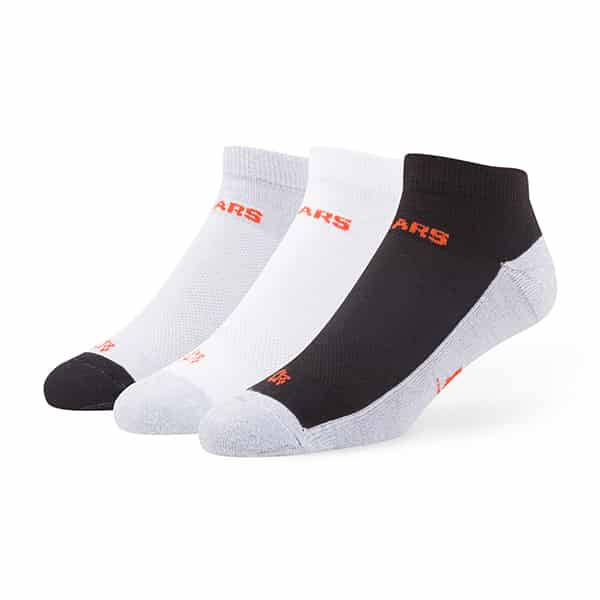 Chicago Bears Rush Motion Low Cut Socks 3 Pack Tonal 47 Brand
