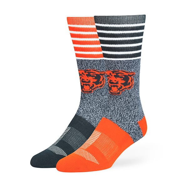 Chicago Bears Vernon Fuse Socks Navy 47 Brand