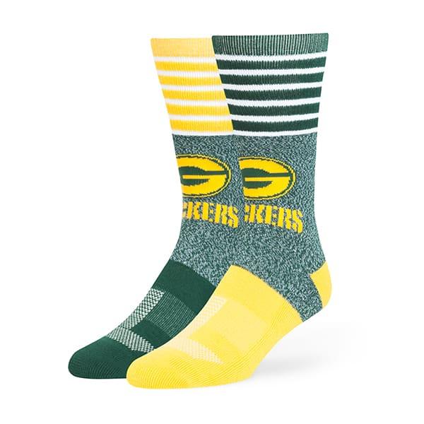Green Bay Packers Vernon Fuse Socks Dark Green 47 Brand