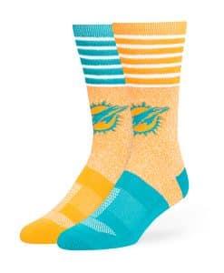 Miami Dolphins Vernon Fuse Socks Pylon 47 Brand