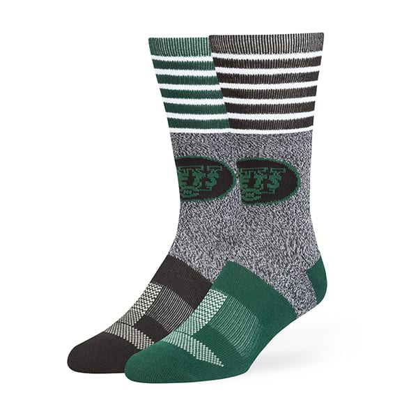 New York Jets Vernon Fuse Socks Black 47 Brand