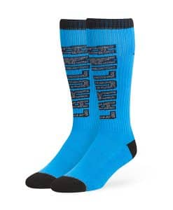 Carolina Panthers Warner Sport Socks OTC Glacier Blue 47 Brand