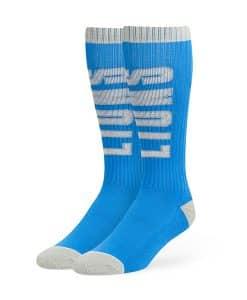 Detroit Lions Warner Sport Socks OTC Blue Raz 47 Brand
