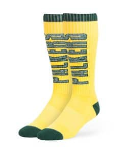 Green Bay Packers 47 Brand Cheddar Warner Sport Socks