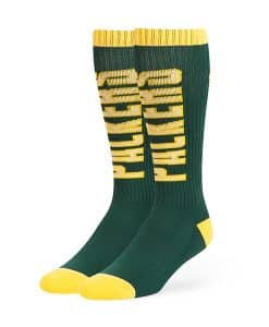 Green Bay Packers 47 Brand Dark Green Warner Sport Socks