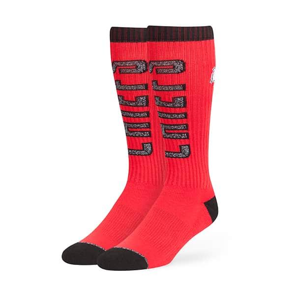 Kansas City Chiefs Warner Sport Socks OTC Torch Red 47 Brand
