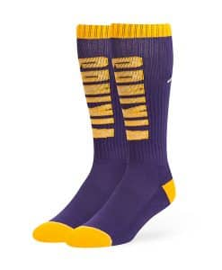 Minnesota Vikings Warner Sport Socks OTC Purple 47 Brand