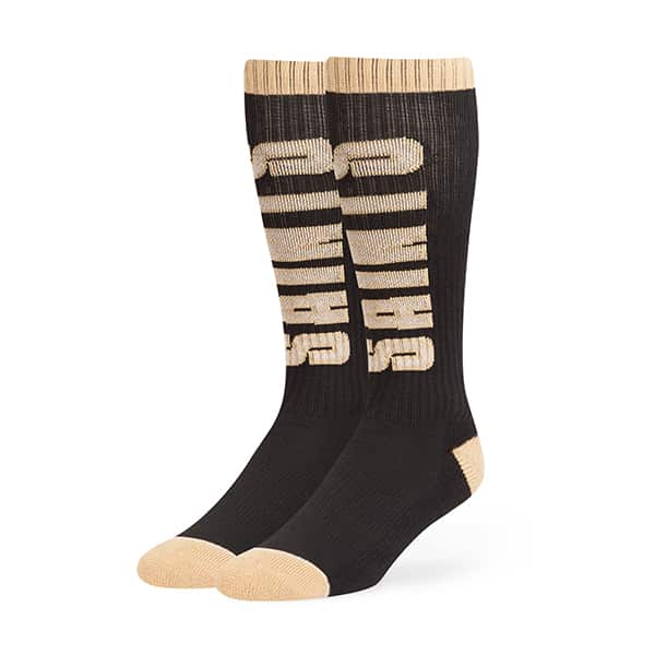 New Orleans Saints Warner Sport Socks OTC Black 47 Brand