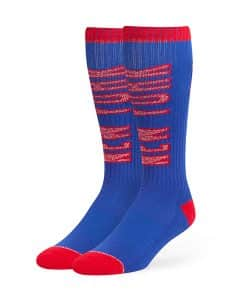 New York Giants Warner Sport Socks OTC Royal 47 Brand