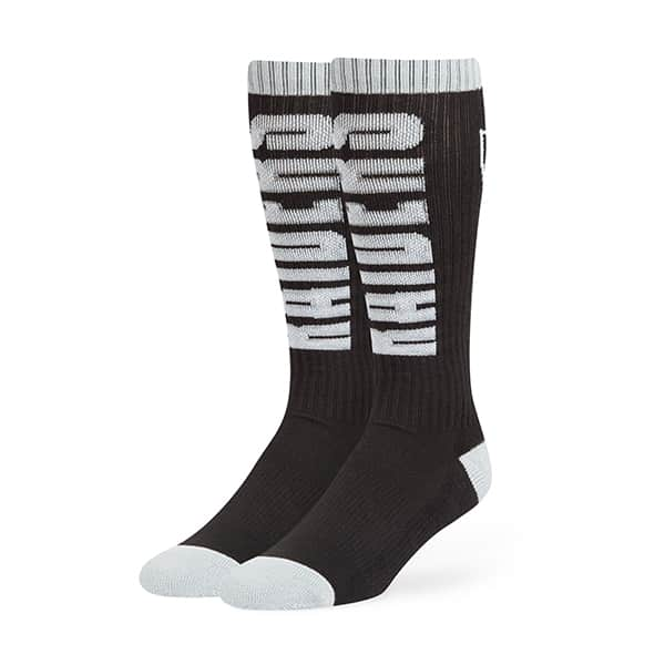 Oakland Raiders Warner Sport Socks OTC Black 47 Brand