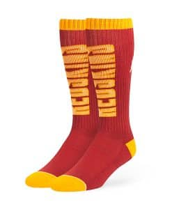 Washington Redskins Warner Sport Socks OTC Razor Red 47 Brand