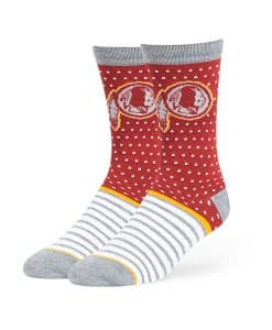 Washington Redskins Willard Flat Knit Socks Razor Red 47 Brand