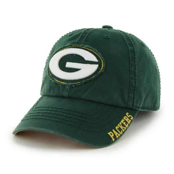 Green Bay Packers Winthrop Dark Green Hat Dark Green 47 Brand