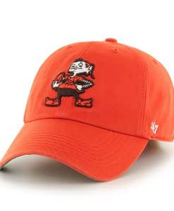 Cleveland Browns Franchise Orange 47 Brand Hat