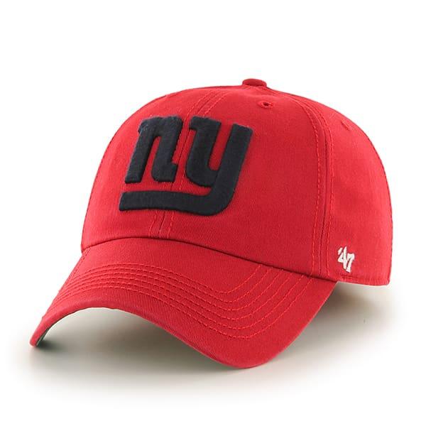 New York Giants Franchise Red 47 Brand Hat Detroit Game
