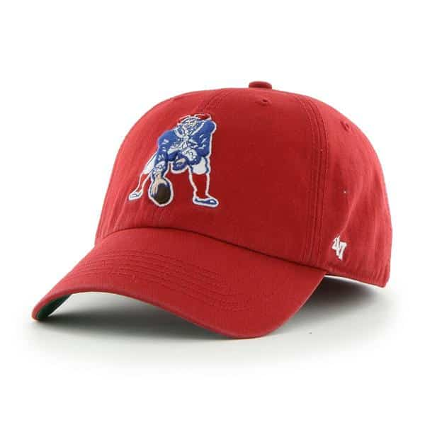 New England Patriots Franchise Red 47 Brand Fitted Hat