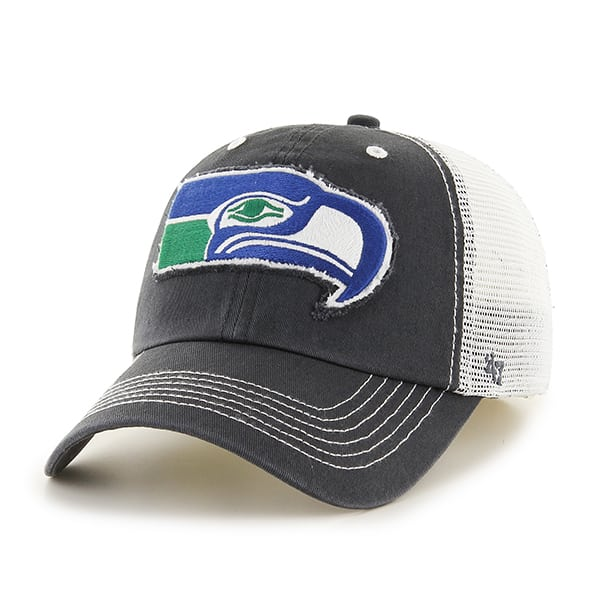 Seattle Seahawks Taylor Closer Charcoal 47 Brand hat