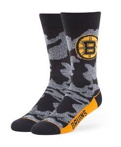 Boston Bruins Bayonet Fuse Socks Black 47 Brand