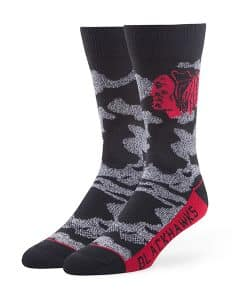 Chicago Blackhawks Bayonet Fuse Socks Black 47 Brand