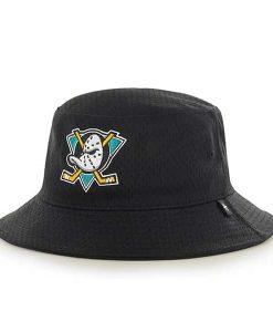 Anaheim Ducks Backboard Bucket Hat Black 47 Brand
