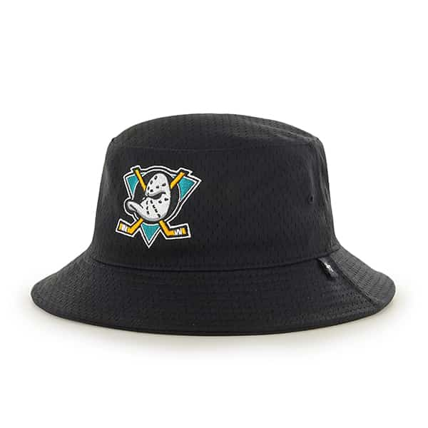 Anaheim Ducks Backboard Bucket Hat Black 47 Brand