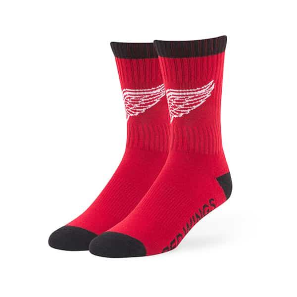 Detroit Red Wings Bolt Sport Socks Red 47 Brand