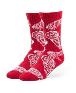 Detroit Red Wings Bravado Sport Socks Red 47 Brand