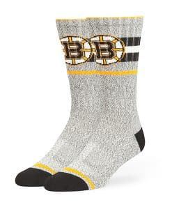 Boston Bruins Collins Fuse Socks Brown 47 Brand