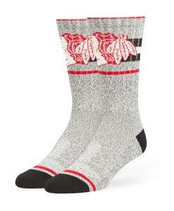 Chicago Blackhawks Collins Fuse Socks Brown 47 Brand