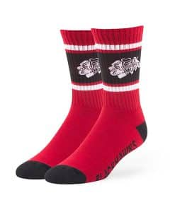 Chicago Blackhawks Duster Sport Socks Red 47 Brand
