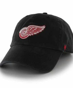 Detroit Red Wings Franchise Black Hat Black 47 Brand