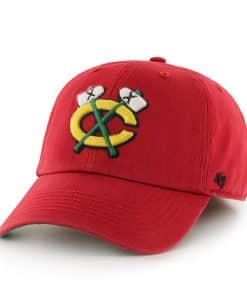 Chicago Blackhawks Franchise Red 47 Brand Hat