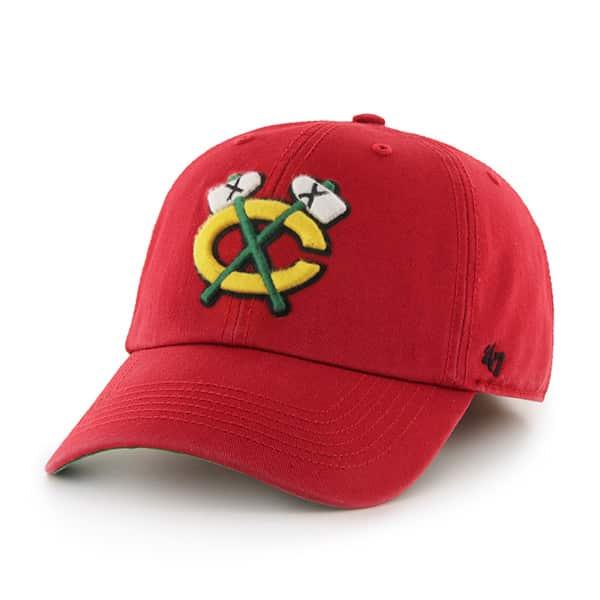 Chicago Blackhawks Franchise Red 47 Brand Hat