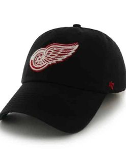 Detroit Red Wings Franchise Black 47 Brand Hat