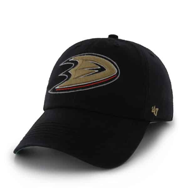 Anaheim Ducks Franchise Black 47 Brand Hat