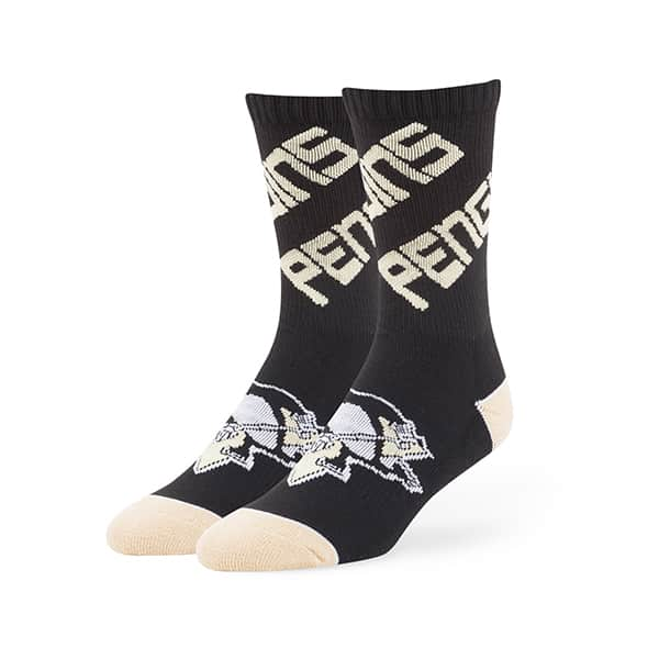 Pittsburgh Penguins Helix Sport Socks Black 47 Brand
