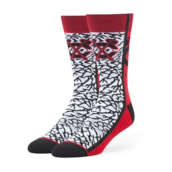 Chicago Blackhawks Hannibal Fuse Socks Red 47 Brand