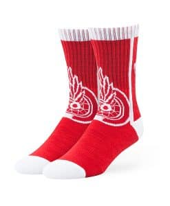 Detroit Red Wings Hot Box Sport Socks Red 47 Brand