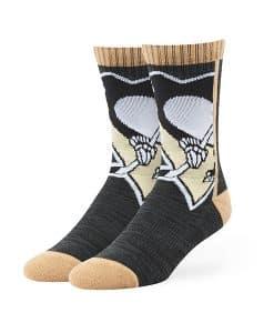 Pittsburgh Penguins Hot Box Sport Socks Black 47 Brand